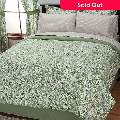 434-360 - Cozelle® ''Bridgeport'' Eight-Piece Bedding Ensemble