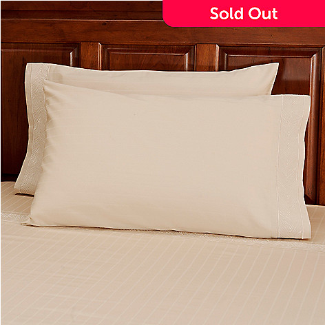 434-375 - North Shore Linens™ 500TC Egyptian Cotton Pillowcase Pair