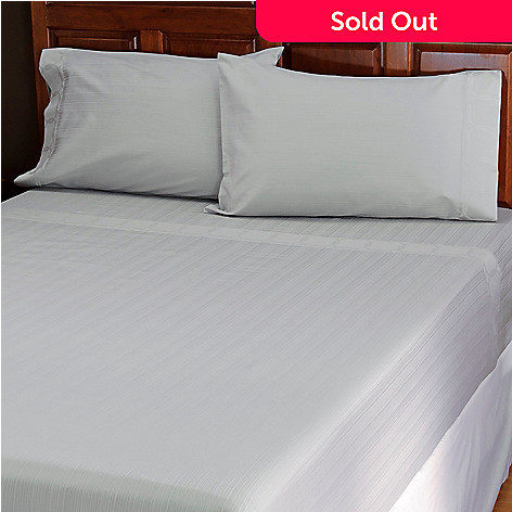 434-379 - North Shore Linens™ 500TC Egyptian Cotton Four-Piece Sheet Set