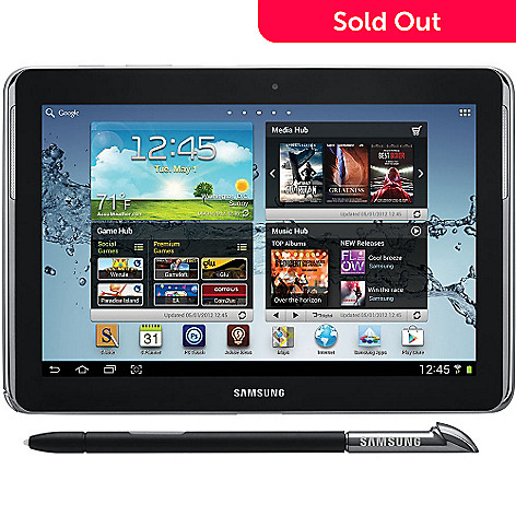 434-393 - Samsung GT-N8013-EA16ARB 16GB 10.1'' Galaxy Note Tablet w/ S Pen (Refurbished)