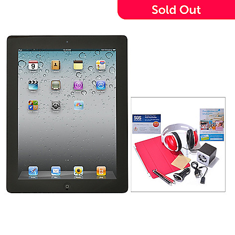 434-715 - New Apple iPad 4th Generation Retina Display Wi-Fi Only Tablet w/ Accessories