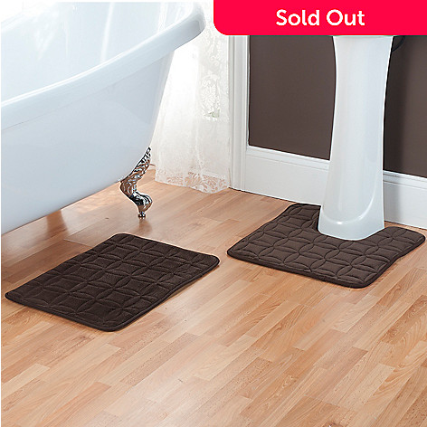 434-720 - Cozelle® Memory Foam Bath & Contour Mat Set