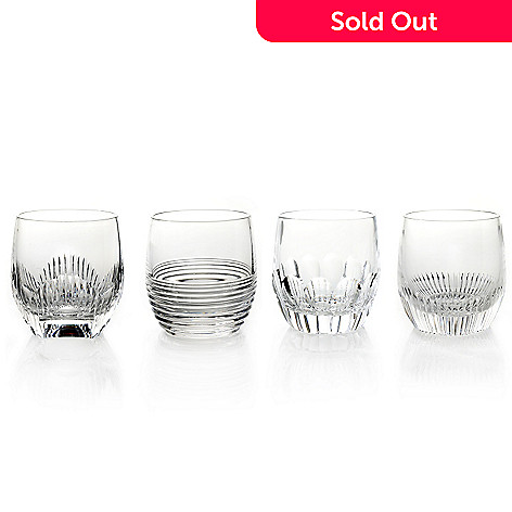 434-819 - Waterford Crystal Mixology 10 oz. Set of Four Double Old Fashioned Glasses