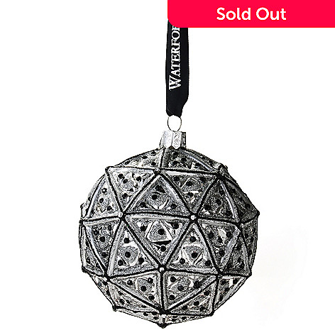 434-829 - Waterford® Crystal 2013 Times Square 4'' Ball Ornament