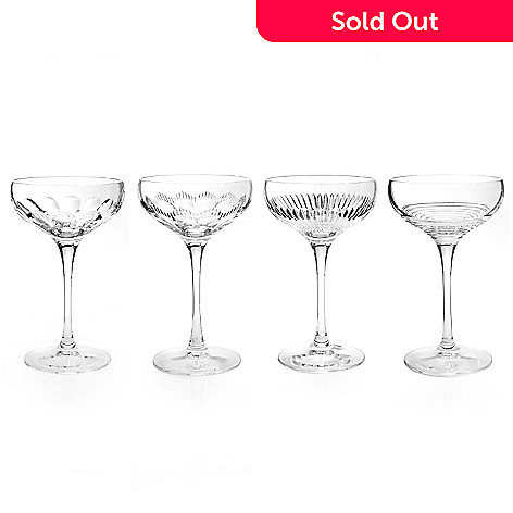 434-838 - Waterford Crystal Mixology Set of Four 6 oz Coupes