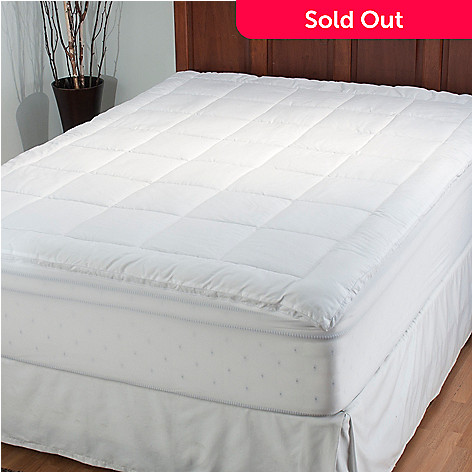434-949 - Cozelle® Microfiber Quilted Mattress Pad