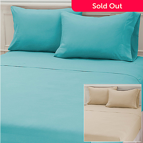 434-954 - Cozelle® Set of Two Microfiber Four-Piece Sheet Sets