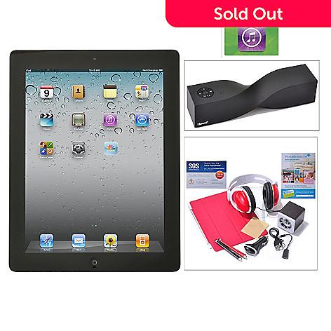 435-013 - New Apple iPad 4th Generation Retina Display Wi-Fi & 4G Tablet w/ Accessories