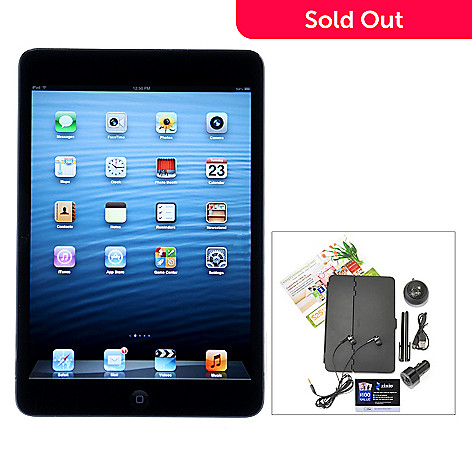 435-018 - Apple iPad Mini 7.9'' LED 32GB 4G Tablet w/ Accessories & Two Gift Cards