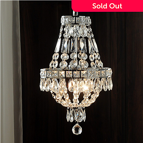435-033 - Gallery 18'' Empire-Style Crystal Glass Chandelier