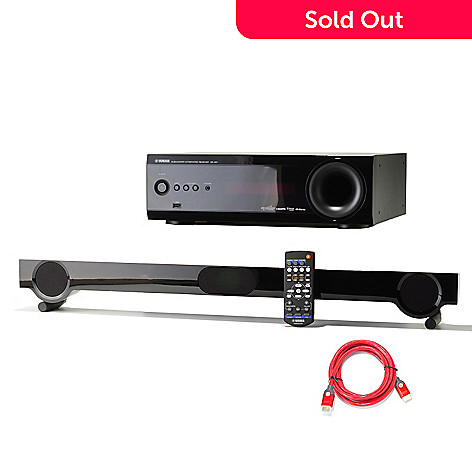 435-159 - Yamaha 7.1-Channel 250W Home Theater System w/ HDMI Cable