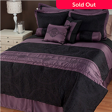 435-217 - North Shore Linens™ ''Cordoba'' 10-Piece Bedding Ensemble