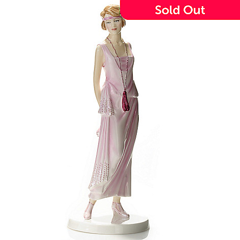 435-228 - Royal Doulton Fashion of the Decades: 1920s ''Gloria'' 9.25'' Figurine - Signed