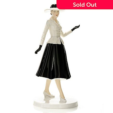 435-229 - Royal Doulton® Limited Edition Judy 9.25'' Fashion of the Decades 1940s