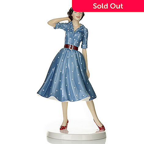 435-230 - Royal Doulton Fashion through the Decades: 1950s ''Nancy'' Bone China Figurine - Signed