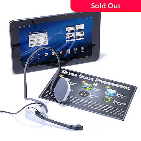 435-281 - LG Optimus 8.9'' Google Certified 4G Android® 3.0 32GB HD Tablet w/ Software & Headset