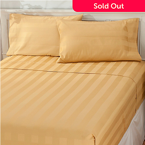 435-304 - North Shore Living™ 1200TC Egyptian Cotton Damask SureSoft® Four-Piece Sheet Set