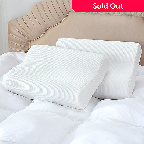 435-372 - sensorPEDIC Classic Comfort Set of Two Memory Foam Pillows