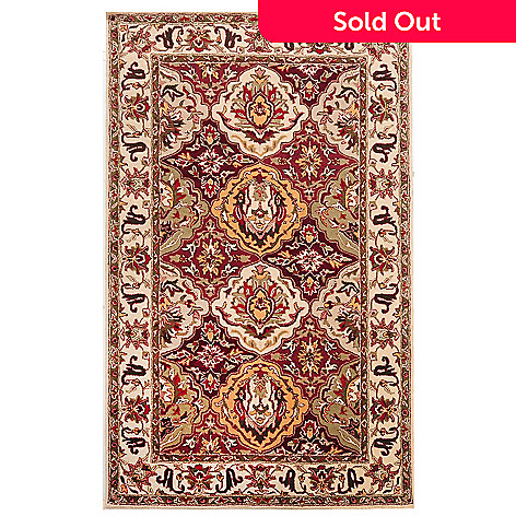 435-407 - Global Rug Gallery Royal Court Hand Tufted 100% Wool Rug