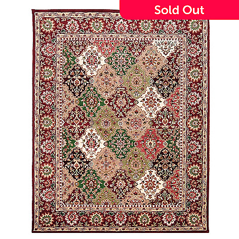 435-410 - Global Rug Gallery Jeweled Harlequin Hand Tufted 100% Wool Rug