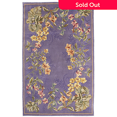 435-432 - Global Rug Gallery Spring Garden Hand Tufted 100% Wool Rug