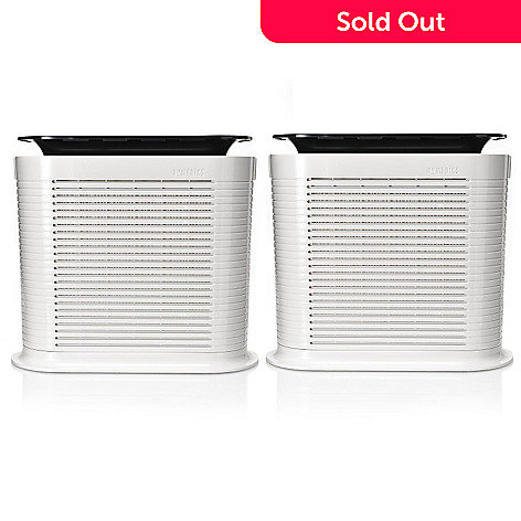 435-433 - Homedics® Set of Two Three-Speed Professional HEPA Air Cleaners