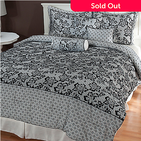 435-465 - North Shore Linens™ ''Elizabeth'' Seven-Piece Bedding Ensemble