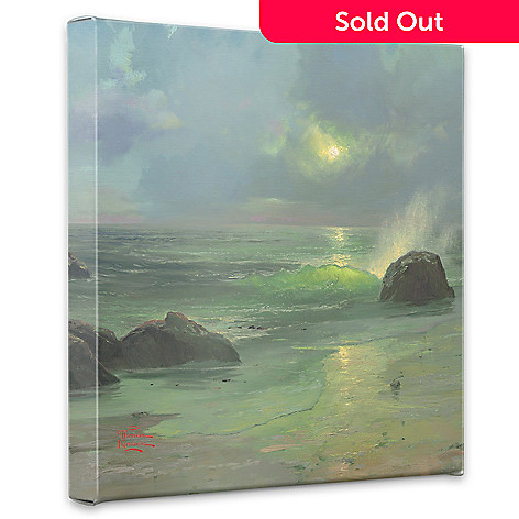 435-469 - Thomas Kinkade ''Pacific Nocturne'' Gallery Wrap