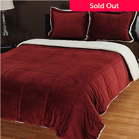 435-549 - Cozelle® Micro Mink Three-Piece Comforter Set