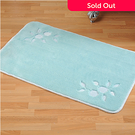 435-554 - North Shore Linens™ ''Florette'' Bath Mat