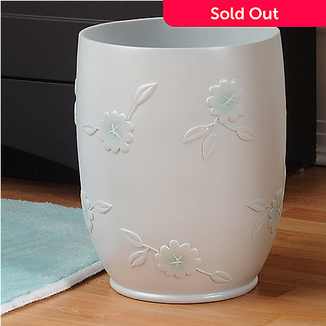 435-556 - North Shore Linens™ ''Florette'' Wastebasket