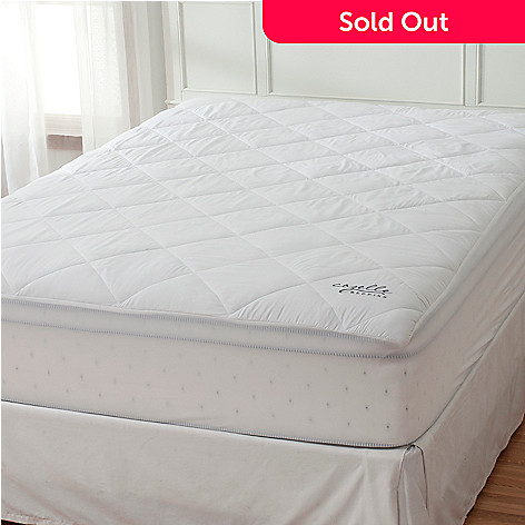 435-602 - Cozelle® Microfiber Stain & Water Resistant Mattress Pad