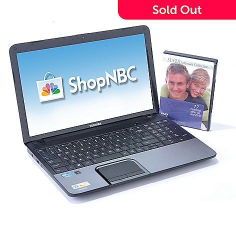 435-609 - Toshiba Satellite 15.6'' Intel® Core™ i3 2.4GHz 4GB RAM 640GB HD Notebook w/ Software