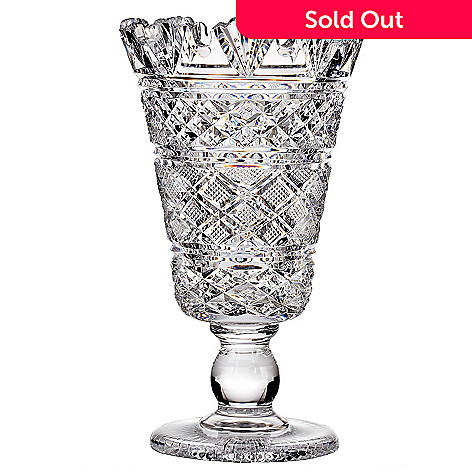 435-621 - House of Waterford Museum Collection Limited Edition 11.25'' Crystal Georgian Vase