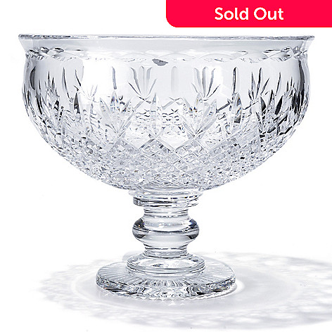 435-622 - House of Waterford® Killarney 9.25'' Crystal Centerpiece Bowl - Signed