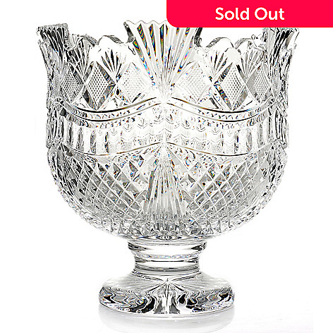 435-636 - House of Waterford® Designer Studio Pallas 5 qt Crystal Punchbowl
