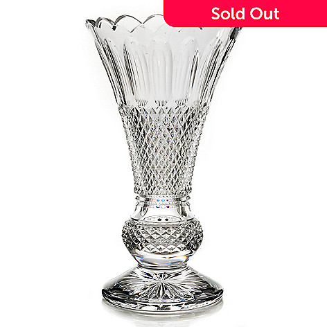 435-639 - House of Waterford Colleen 60th Anniversary Limited Edition 14'' Crystal Vase