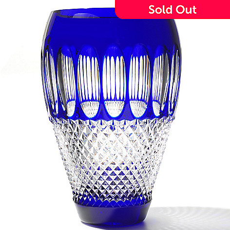 435-643 - Waterford Crystal New Colleen 60th Anniversary 8'' Vase