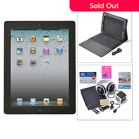435-677 - Apple® iPad® 4th Gen 9.7'' Retina Display Wi-Fi & 4G Tablet w/ Accessories