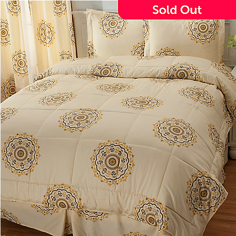 435-706 - North Shore Linens™ 300TC Egyptian Cotton Four-Piece Comforter Set