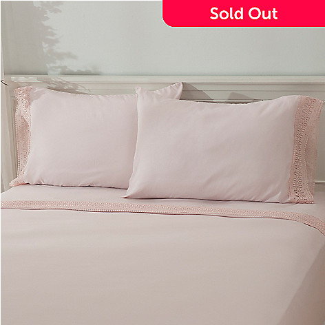 435-714 - Cozelle® Lace Microfiber Pillowcase Pair