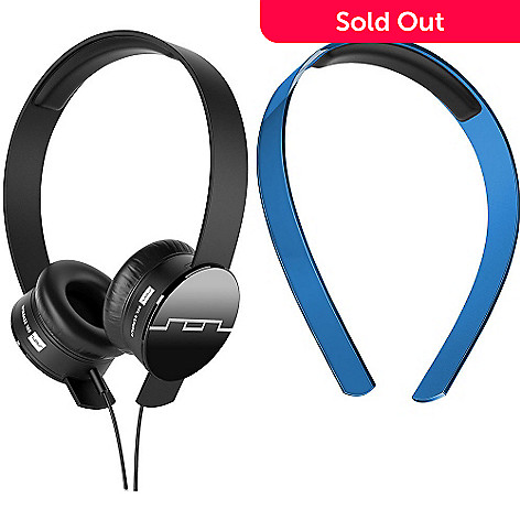 435-845 - SOL REPUBLIC® Tracks On-Ear Headphones & Bonus Interchangeable Headband
