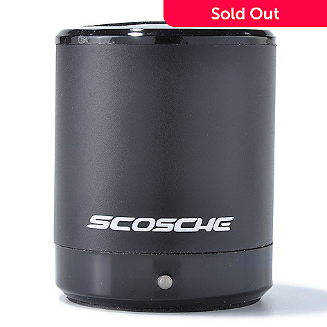 435-874 - Scosche® boomCAN 2.5W Portable Media Speaker