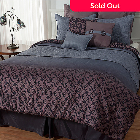 436-006 - Bryan Keith ''Kokomo'' Microfiber Nine-Piece Bedding Ensemble
