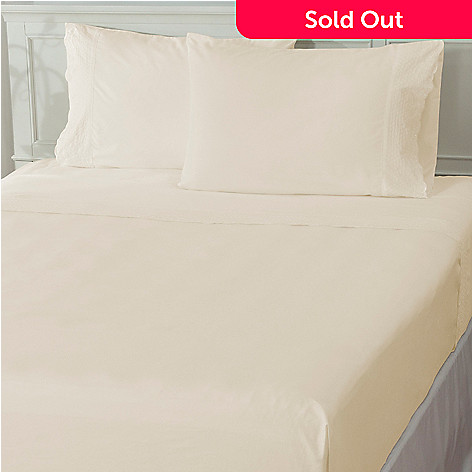 436-009 - Cozelle® ''Venice'' Microfiber Lace Four-Piece Sheet Set