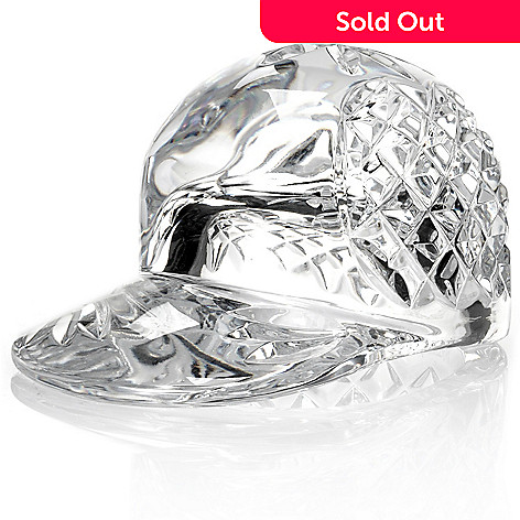 436-083 - Waterford Crystal 3'' Baseball Hat