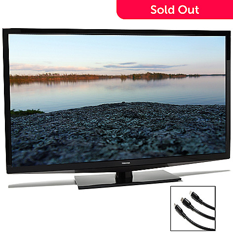 436-093 - Toshiba 50'' 1080p LED HDTV w/ Tabletop Base, HDMI Cables & $40 Gift Card