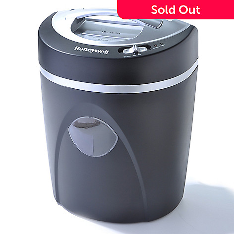 436-094 - Honeywell 7-Sheet Micro-Cut Paper & CD/Credit Card Shredder w/ Waste Bin