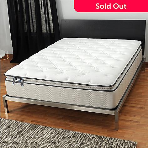 436-097 - Simmons BeautySleep® ''Manhattan'' Plush Pillowtop Mattress ONLY