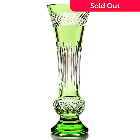 436-202 - Waterford Crystal Fleurology Amy 13.75'' Bouquet Vase